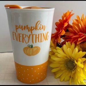 FINAL Price! Pumpkin Everything Coffee Mug Travel